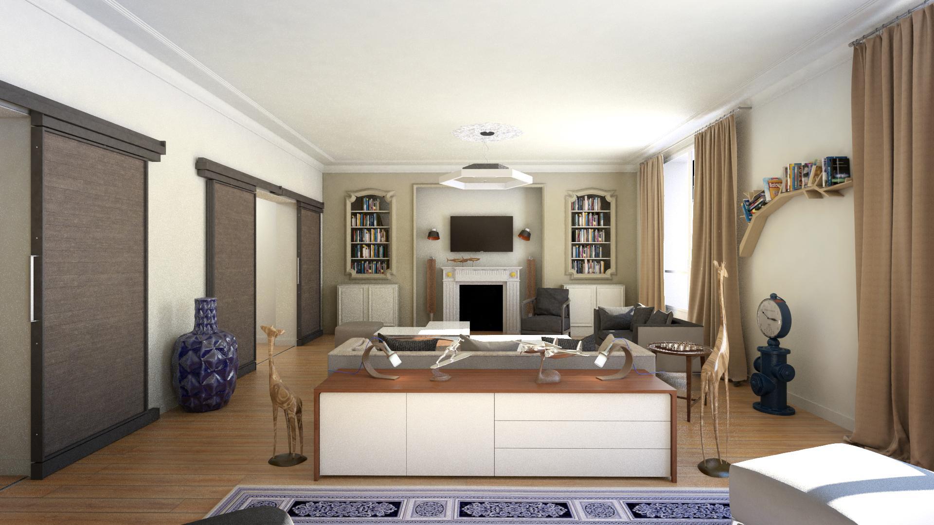 home staging 3d 187m paris atj graphics. Black Bedroom Furniture Sets. Home Design Ideas