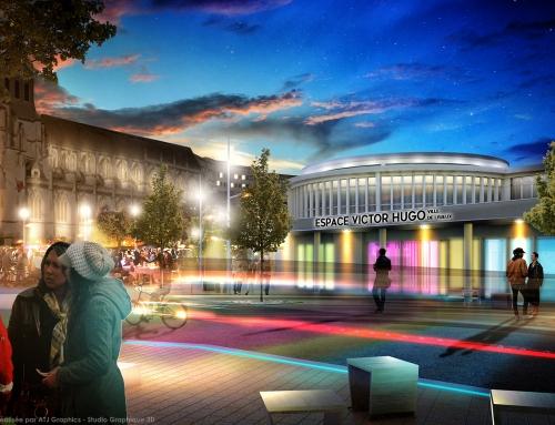 [Architecture] Espace Municipal – Lisieux – Structure Réalisateur d'Espace