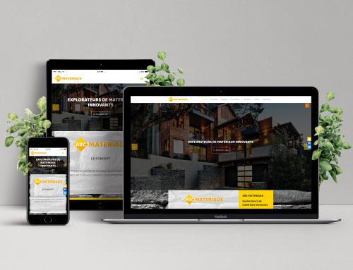 Site Web – Construction – ABC Matériaux