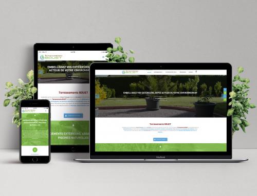 Site Web – Artisan – Terrassements Bouet