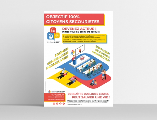 [Print] HelpConnect – Affiche – Communication