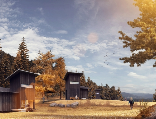[CONCOURS] Silent Meditation Forest Cabins – Lettonie – JG Atelier for BeeBreeders