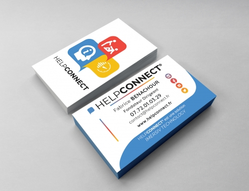 [Print] HelpCONNECT® – Carte de Visites