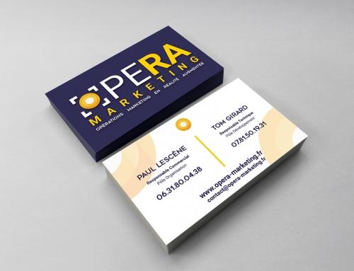 [Print] OpeRA Marketing – Carte de Visites