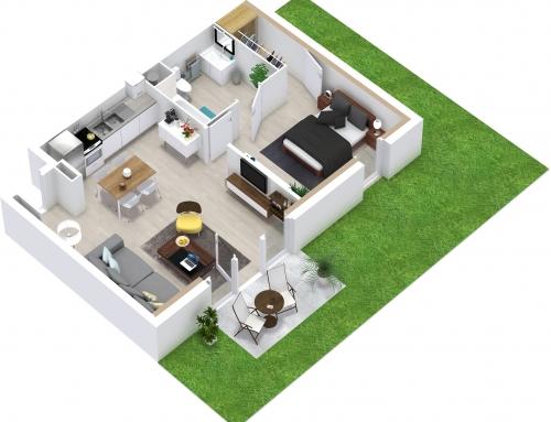 [Promotion Immobilière] Appartement – T2 – Caen – Investir Immobilier