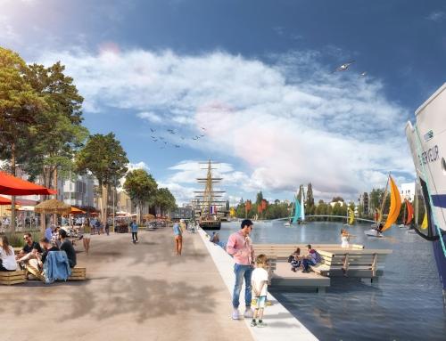 [Urbanisme] Presqu'île de CAEN LA MER – Nouveau Bassin – SPLA