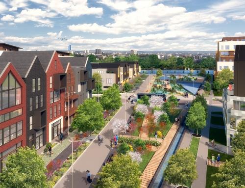 [Urbanisme] Presqu'île – Le Jardin d'Eau – Hérouville Saint Clair
