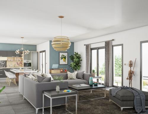 [Promotion Immobilière] Vue intérieure – Salon
