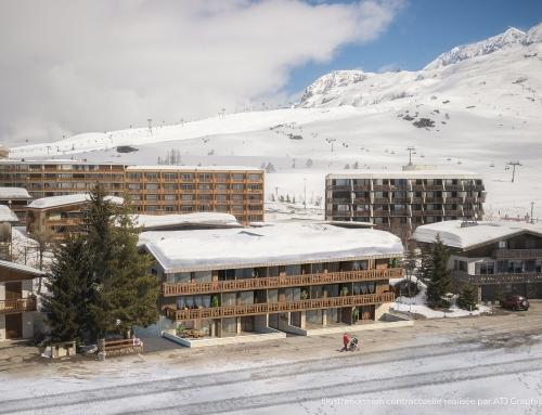 [Montagne] LES GENTIANES – Alpe d'Huez – Groupe ATRIUM