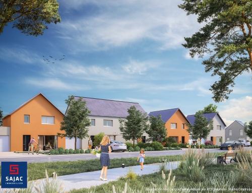 [Promotion Immobilière] LE HAUT DES COLOMBIERS – Merville-Franceville – SAJAC Immobilier
