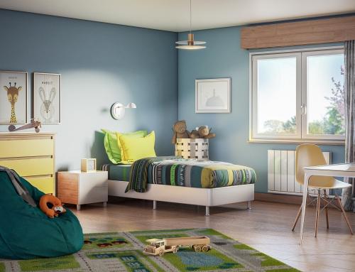 [Vue intérieure] Chambre enfant – Catalogue 3D – ISOROL