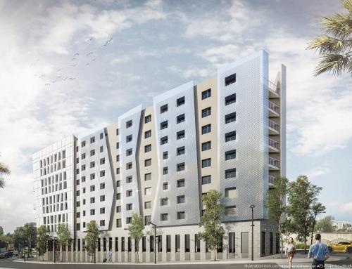 [Vue extérieure] Hôtel Luxe – Nice – Groupe ATRIUM
