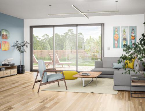 [Vue intérieure] Salon contemporain – Catalogue 3D – ISOROL