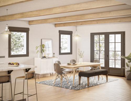 [Vue intérieure] Salle à manger Rénovation – Catalogue 3D – ISOROL