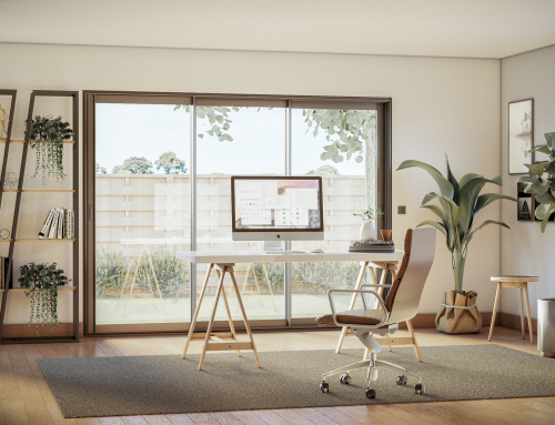 [Vue intérieure] Bureau – Catalogue 3D – ISOROL